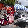 新宿集合−中央線ホリデー快速→甲府駅で予定通り。 祭がちょうど開催されていて甲府駅はにぎわっていました。