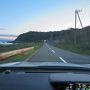 5/27(日) 道の駅「みねはま」から日本一周20日目の始まり。 3:30津軽半島の最北端、龍飛埼を目指す。