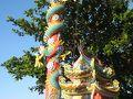 ヒルトン下中華寺の龍柱です。