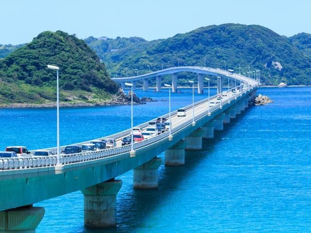 車なしで絶景「角島大橋」や「元乃隅稲成神社」へ!便利な周遊バスが登場