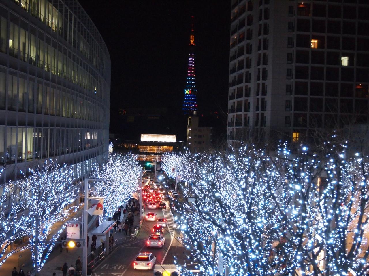 【4位】六本木ヒルズ Artelligent Christmas