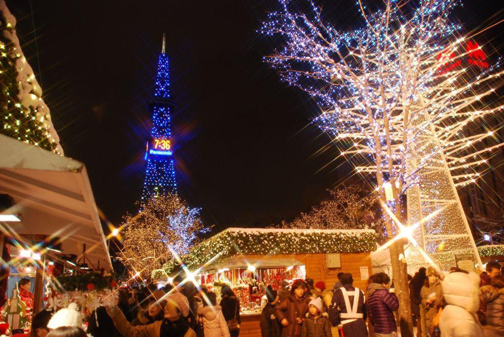 札幌市 大通公園のクリスマスマーケット(ミュンヘン クリスマス市 in Sapporo)