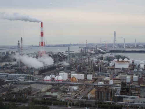 仙台経由で四日市工場夜景一人旅
