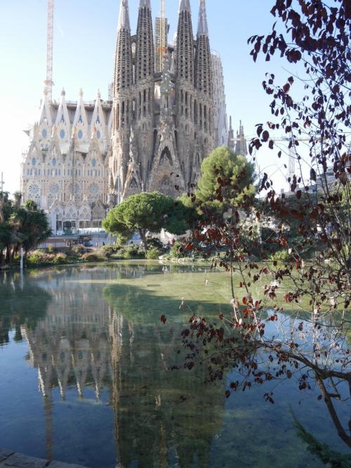 2017年冬 母娘2人 バルセロナ・ベルリン旅 出発~バルセロナ到着編