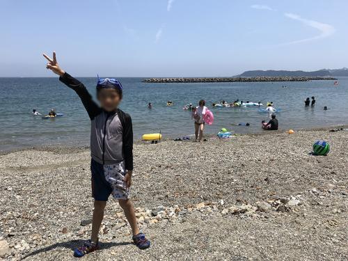 9歳の夏休みは答志島!