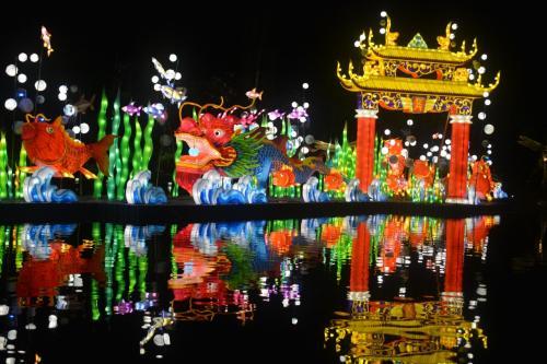 シンガポール 中秋節ランタン ライトアップ♪