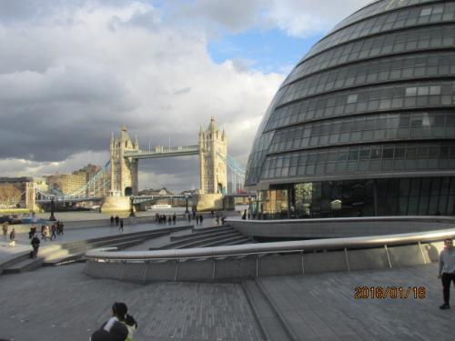 イギリスの3日間(51)ロンドン市庁舎。