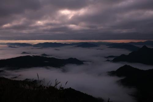 雲海を求めてプーチーファー