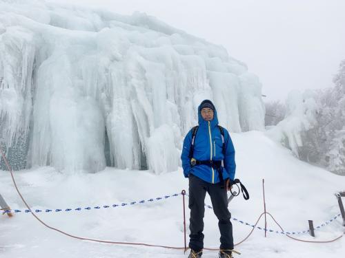 東海エリアの樹氷スポット 三重 御在所岳(1209.4m)