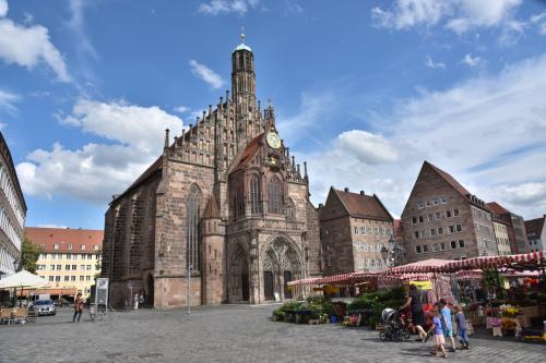 2016年 ドイツの旅(8)ニュルンベルク 中世、職人マイスタ-が活躍した街