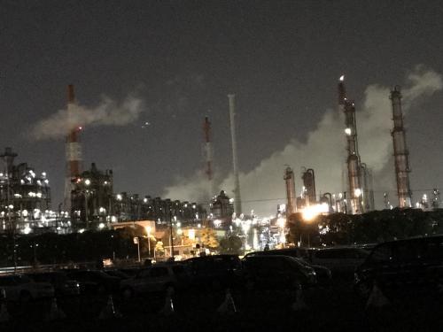ホテル三日月龍宮城スパと市原市の工場夜景、日帰り旅。