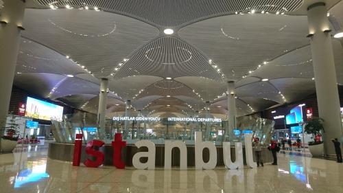 イスタンブール新空港  行ってきます~の前に11,587歩 ただいま~で2,795歩 ええ運動なるわ