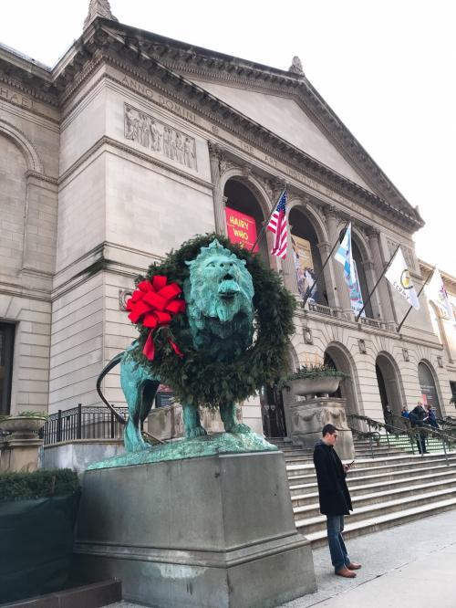 クリスマスシーズンのアメリカ 6~7日目 シカゴから帰国