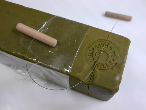 池袋の古代オリエント博物館のパルミラ遺跡と『イスラム技術の歴史』から石鹸の起源 / 旅に便利なオリーブ石鹸からシリアヨルダン旅に想いを馳せる