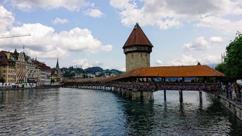 スイス周遊10日間 6つの名峰と6つの絶景列車の旅 8日目  中世の面影を残す街ルツェルンと絶景列車⑥ピラトゥス登山鉄道の旅