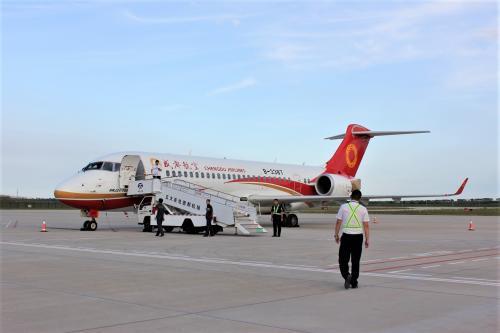 「Haruka in China ~ハルビン、フルンボイル(ハイラル、満洲里)~」  vol.6 ARJ21搭乗記