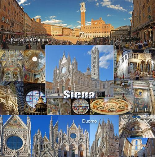 トスカーナ街巡り+ローマ 7 -世界遺産シエナを観光、Mugolone Ristoranteで絶品トリフが香るカルボナーラリゾット頂きます-