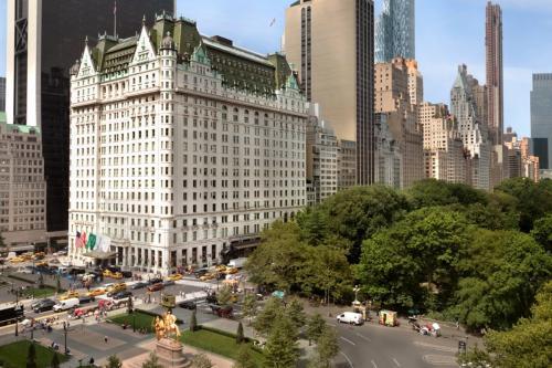 ニューヨーク 1.  五つ星 プラザホテルの宿泊体験記