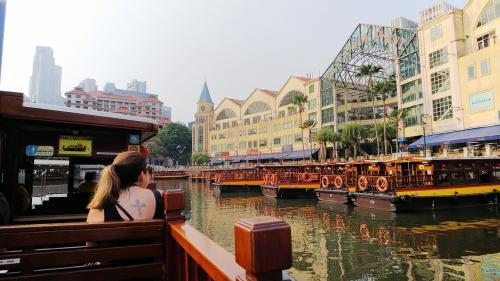 シェムリアップひとり旅の夏休み。最後はシンガポール1泊で