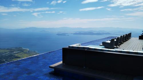 『琵琶湖テラス』でジップラインに初挑戦!