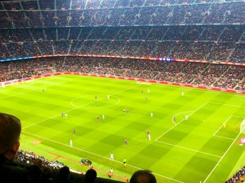 懸賞に当選!バルセロナ旅行①~カンプノウで試合観戦