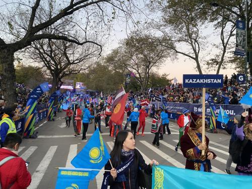 ニューヨークシティマラソン2019 Parade of Nations 国別パレードに参加♪