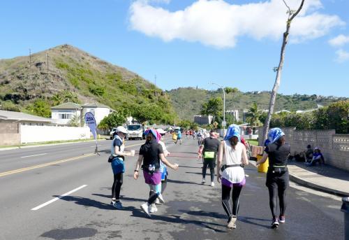 2019.12ホノルルマラソンを完歩!?3-10kmから25kmまで Kapi'olani公園からHawaii Kaiまで