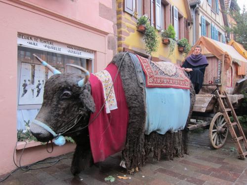 ①なんと!ストライキで中世クリスマスマーケットのRibeauvilleに行けない?2019年*Marché de Noël*