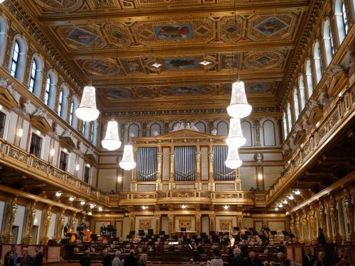 秋のウィーンで音楽三昧の旅 その3 ウィーンフィル定期演奏会とクリスマスマーケットを満喫