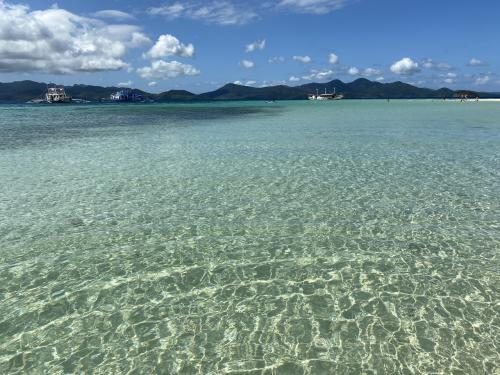 フィリピン 離島 コロンからエルニド  2泊3日船旅