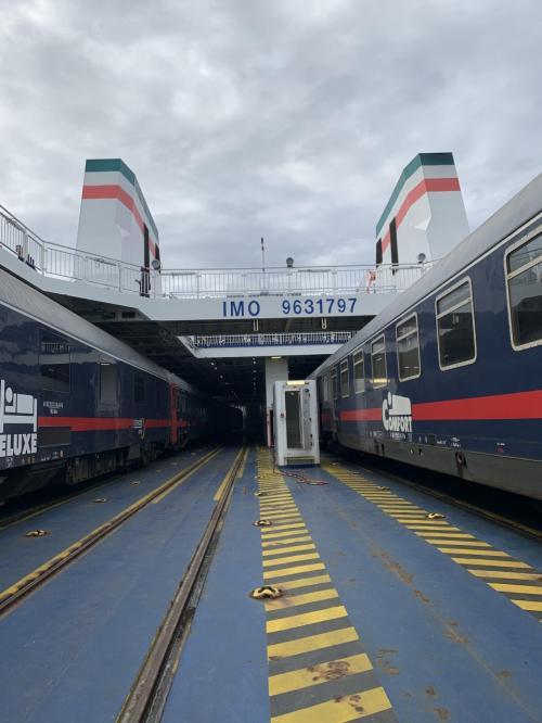 渡り鳥ラインに乗ってイタリア旅その2 列車ごと海を渡ってシチリアへ