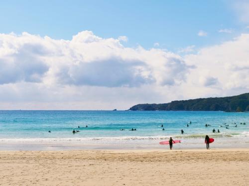 予定のない週末の過ごし方@多々戸浜海岸へ行こう!