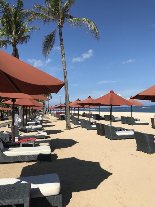 バリ島でまったりと過ごす7日間移動から前泊のみ。