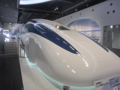 223(ふじさん)の日に富士山を見に行く① 都留で途中下車してリニア見学センターへ行ってきた