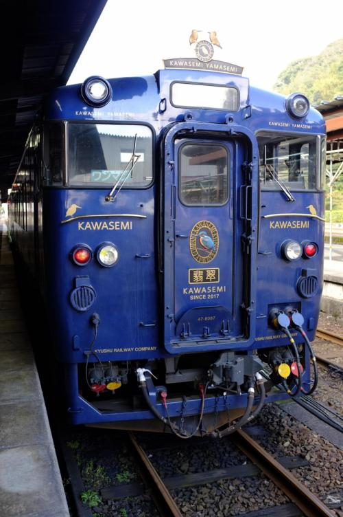 鹿児島空港から熊本空港まで観光列車の旅③かわせみ・やませみ号で熊本へ