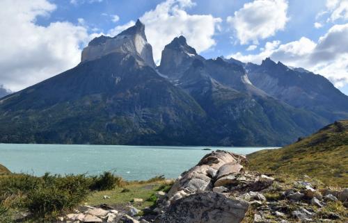 蒼き氷河のパタゴニアと雨季のウユニ塩湖  5日目 パイネ国立公園散策 午前編