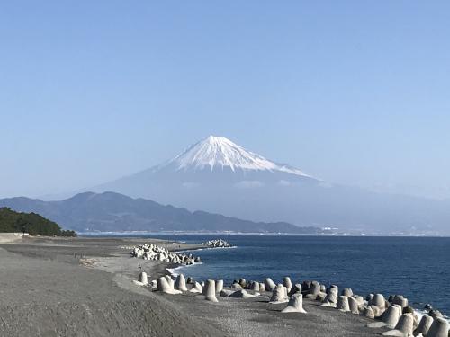 気球と海と松と富士