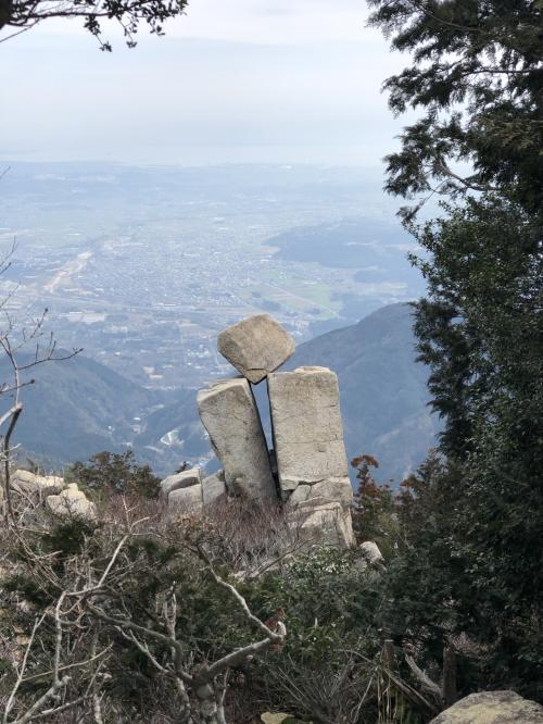 日帰り御在所岳登山 中道↑裏道↓ アクアイグニス