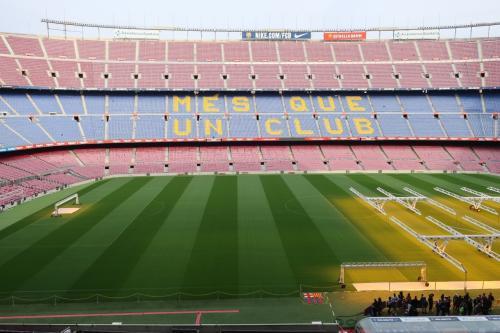 年末年始はリスボン&バルセロナへ<12>カンプノウでスタジアムツアーに参加!編
