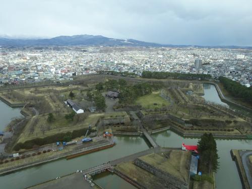 五稜郭-湯の川温泉(函館旅行2) 2020.3.23