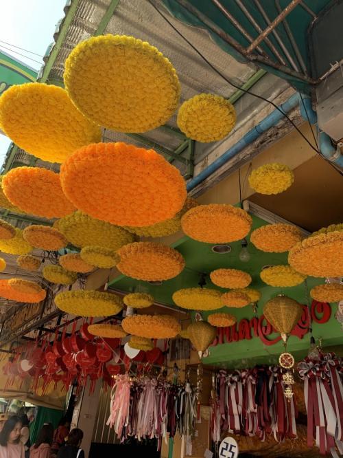 タイ④パクローン花市場~ナイトマーケット~帰国