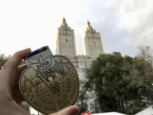 201911 憧れのニューヨークシティマラソンを走る#2