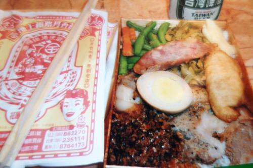 台湾vs日本(ほとんど崎陽軒だけど) 駅弁対決の巻
