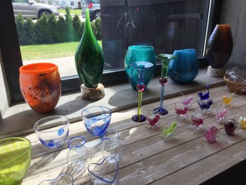 Limmaredでランチ&ガラス美術館
