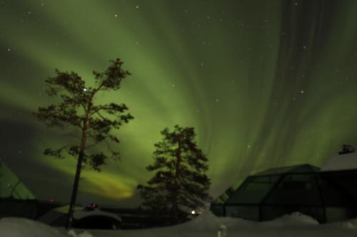 死ぬまでにオーロラを見たい~中年夫婦のフィンランド旅行記 その3~スキー、そしてオーロラ