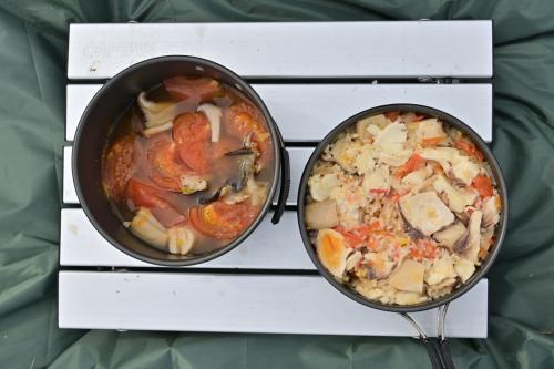 島旅 家島デイキャンプ 島の食材で料理する!!