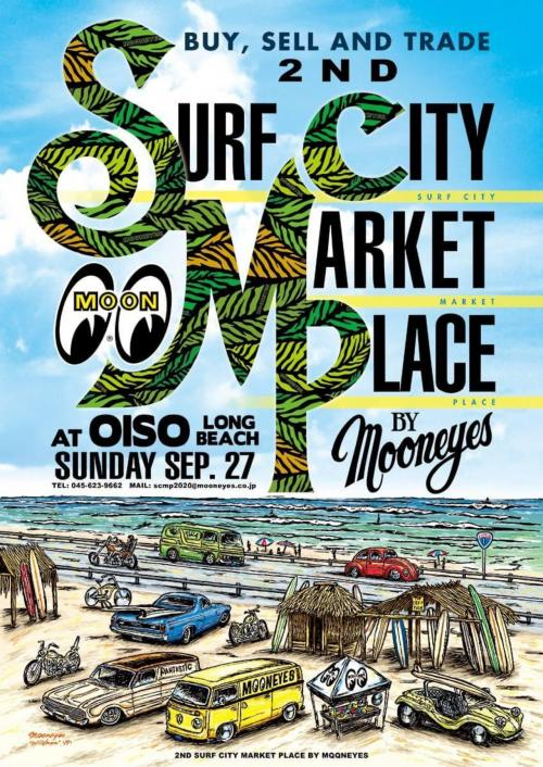 SURF CITY MARKET PLACE by MOON EYES