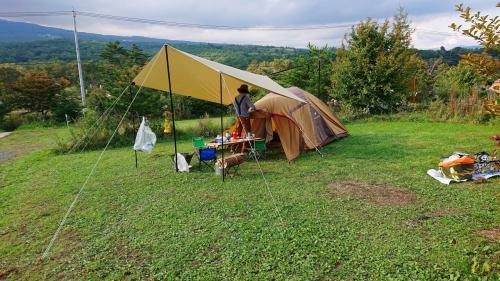 群馬県嬬恋村の無印キャンプ場へ