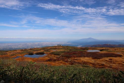 ブララブコー「眺望が最高!庄内平野、鳥海山、佐渡までもが望める☆日本百名山 月山(1984m)」