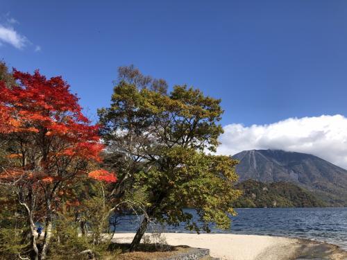 紅葉の千手ヶ浜、西ノ湖、小田代ヶ原 散策